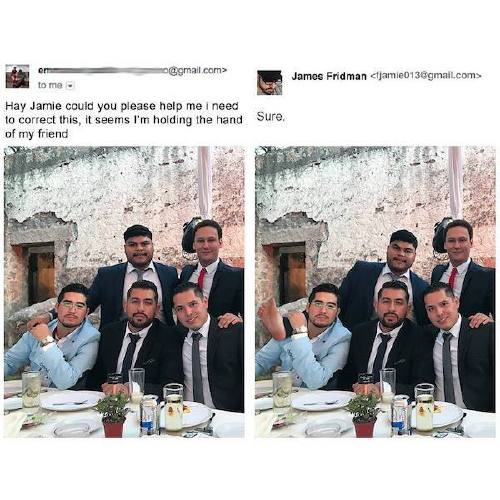 fjamie013 23164484 493870541011772 7096309467993604096 n James Fridman, the unequivocal Photoshop trolling master, is at it again (30 Photos)