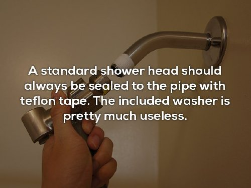 12 photos 5 Plumber shares some helpful tips, and he knows his s**t (13 Photos)