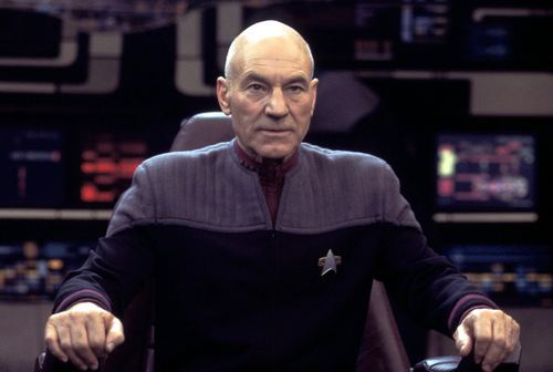 STAR TREK: NEMESIS, Patrick Stewart, 2002. Copyright 2002 by Paramount Pictures/Courtesy: Everett Collection.