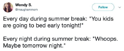 back to school tweets 6 Summer break has parents daydreaming of the school year (28 Photos)