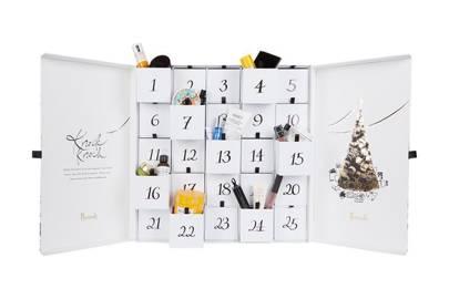 Beauty Advent Calendar, £250, Harrods