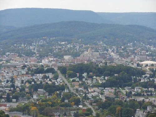 1600px altoona downtown from brush mountain The US areas with the highest and lowest rates of car theft (21 Photos)