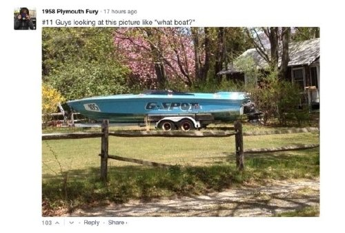 plymouth fury17 This woman is dominating the internet comment game (29 photos)