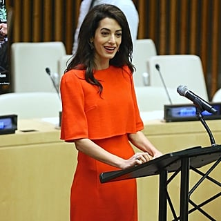 Amal Clooney Speaking at the United Nations September 2018