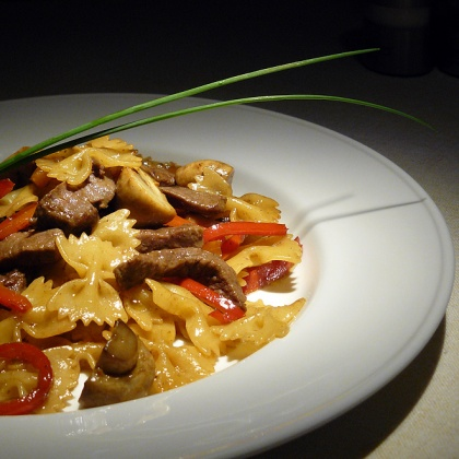 Recipes of a romantic dinner in the Mediterranean style from the chef of the restaurant UNO