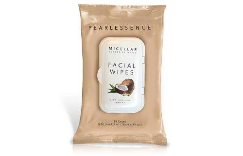 Pearlessence Micellar Cleansing Water Facial Wipes With Coconut Water