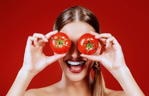 2. Tanned Skin Try Some Tomatoes
