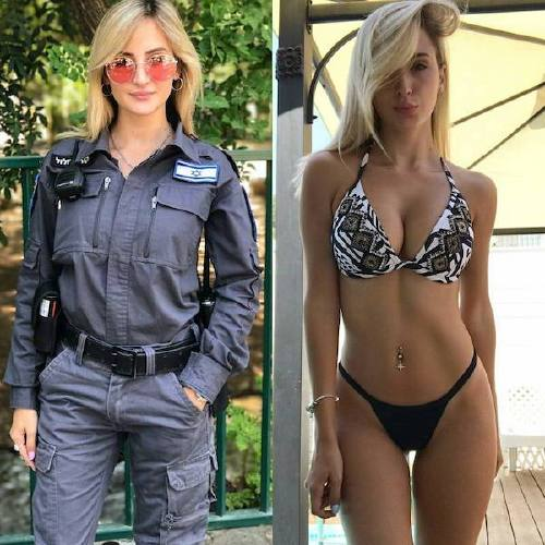 she can do both 26158088 137869170239313 3527448806184452096 n Beautiful bad asses in (and out of) uniform (35 Photos)