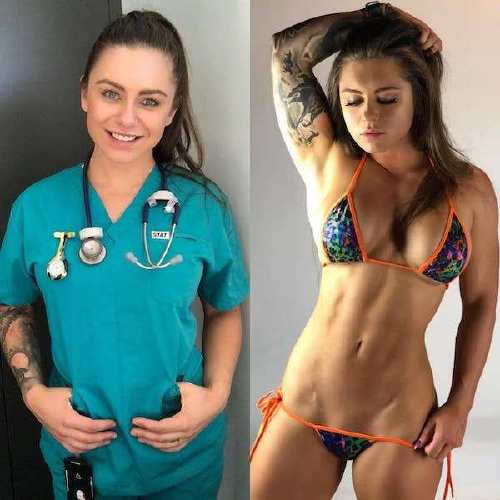 she can do both 29402723 179645489350085 3469278275933569024 n Beautiful bad asses in (and out of) uniform (35 Photos)