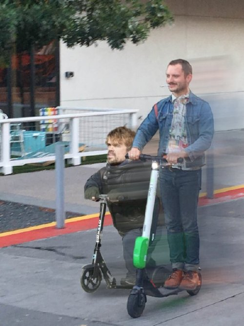 Frodo on a scooter gets the photoshop treatment (18 Photos)