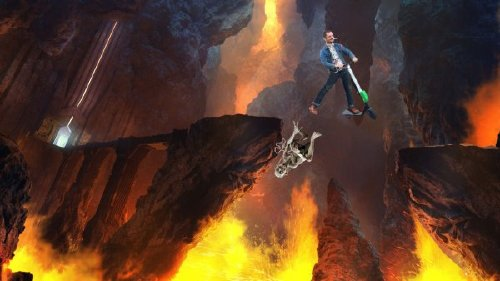 elijah wood photoshop 1 Frodo on a scooter gets the photoshop treatment (18 Photos)