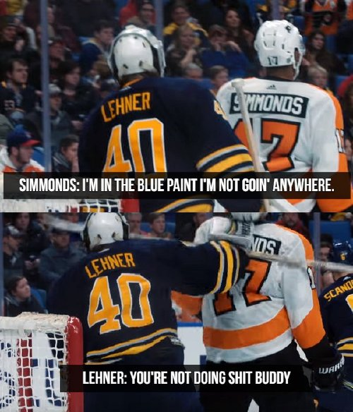 Hockey players are true wordsmiths (23 Photos)