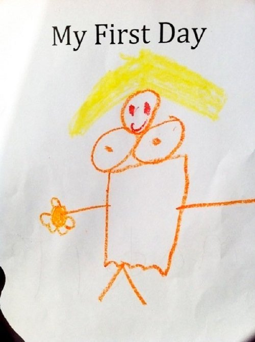inappropriate funny kid drawings 441 605 Kids make for the greatest artists (33 Photos)