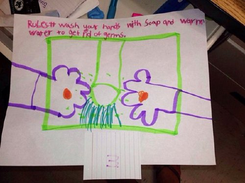 inappropriate funny kid drawings 501 605 Kids make for the greatest artists (33 Photos)