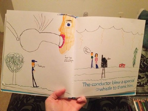 inappropriate funny kid drawings 52 605 Kids make for the greatest artists (33 Photos)