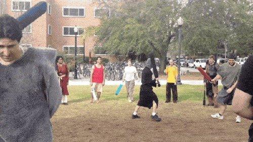 larping xx gifs 312 LARPing: The nerd version of fantasy football (15 GIFs)