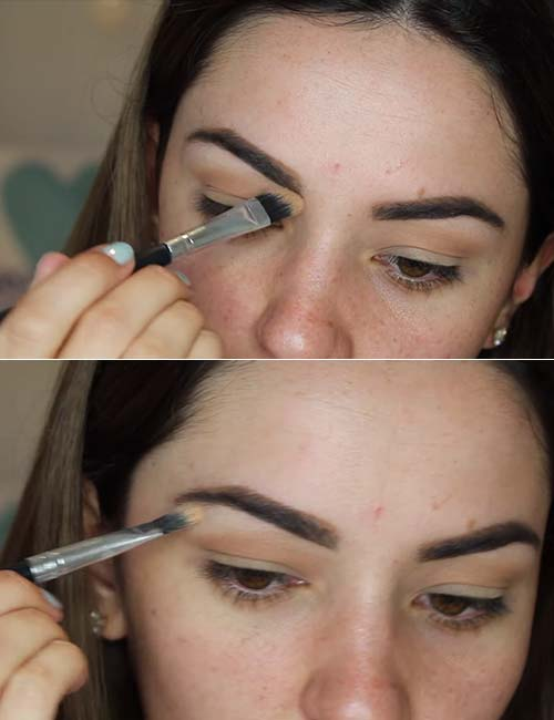 Step 3 Highlight Under The Brow Bone