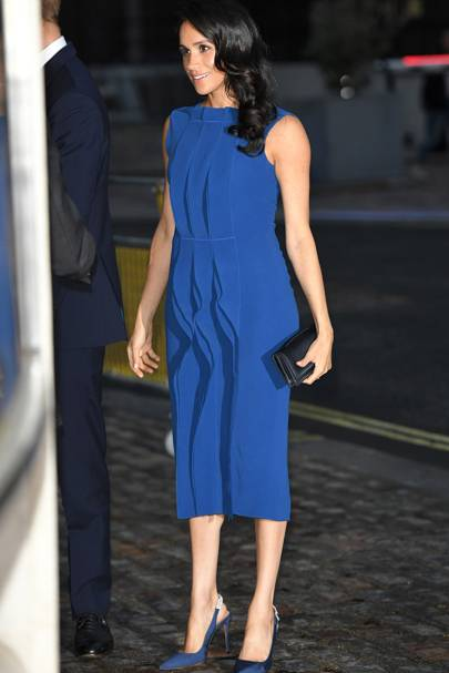 Meghan Markle just made the peplum top the style we're all going to be snapping up