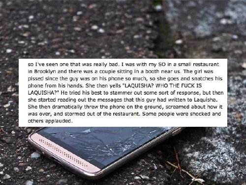 91 Messy public breakups you dont want to be a part of (13 Photos)