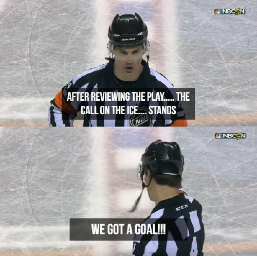 oh the things nhl refs say 17 photos 12 Oh, the things NHL refs say (17 Photos)