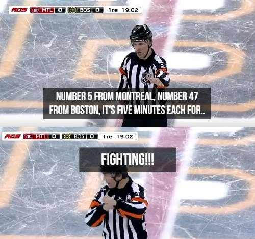 oh the things nhl refs say photos 1 Oh, the things NHL refs say (17 Photos)