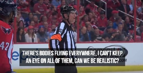 oh the things nhl refs say photos 2 Oh, the things NHL refs say (17 Photos)