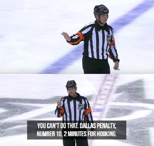 oh the things nhl refs say 17 photos 8 Oh, the things NHL refs say (17 Photos)