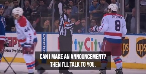 oh the things nhl refs say 17 photos 6 Oh, the things NHL refs say (17 Photos)
