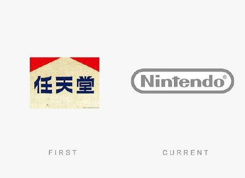 old logos vs current logos of major companies photos 12 Old logos vs current logos of major companies (35 Photos)