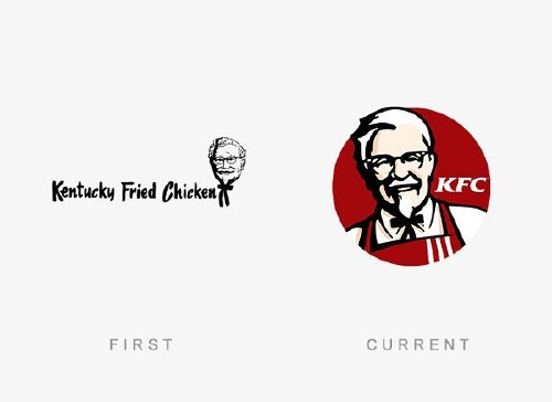 old logos vs current logos of major companies photos 20 Old logos vs current logos of major companies (35 Photos)
