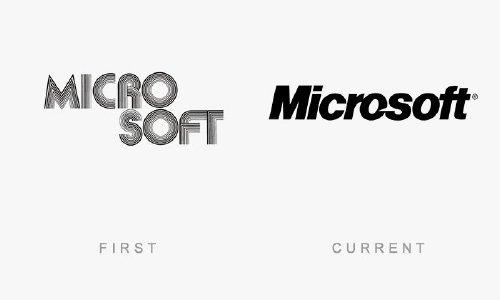 old logos vs current logos of major companies photos 21 Old logos vs current logos of major companies (35 Photos)