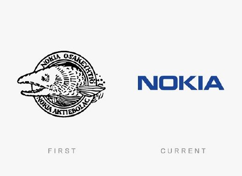old logos vs current logos of major companies photos 22 Old logos vs current logos of major companies (35 Photos)