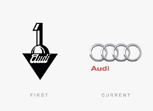 old logos vs current logos of major companies photos 23 Old logos vs current logos of major companies (35 Photos)