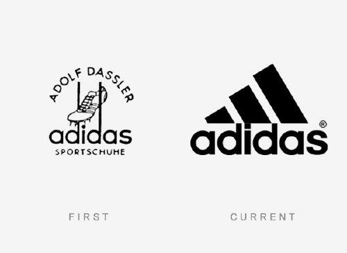 Old logos vs current logos of major companies (35 Photos)