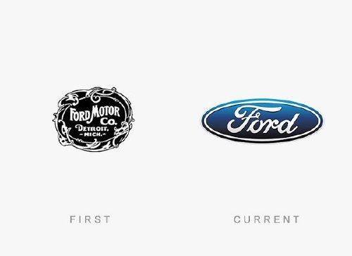 old logos vs current logos of major companies photos 5 Old logos vs current logos of major companies (35 Photos)