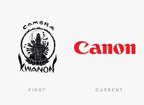 old logos vs current logos of major companies photos 9 Old logos vs current logos of major companies (35 Photos)