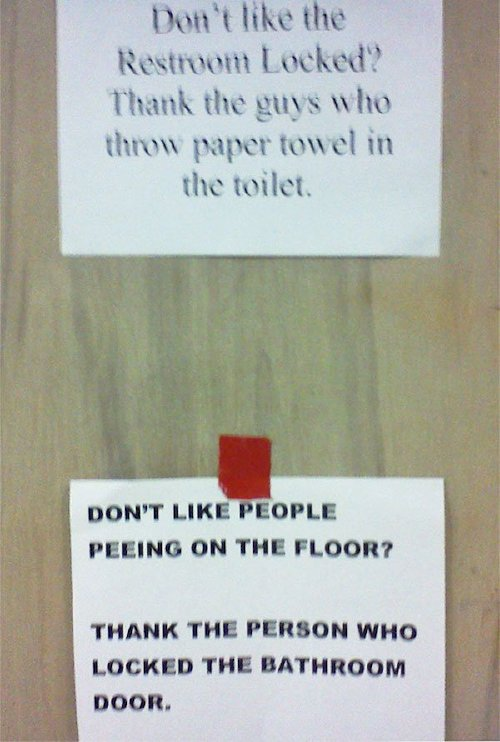 funny flyers posters responses 4 5a7850768137c 605 People dealing with passive aggressiveness like a boss (30 Photos)