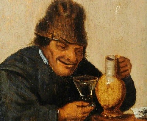mattheus van helmont old man drinking Several of the oldest alcoholic drinks in history (9 Photos)