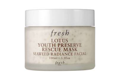 Lotus Youth Preserve Rescue Mask, £52, Fresh