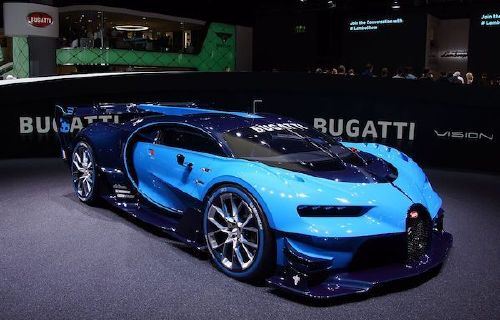 bugatti vision at iaa 2015 in frankfurt Video game vehicles brought to life is fandom at its finest (22 Photos)