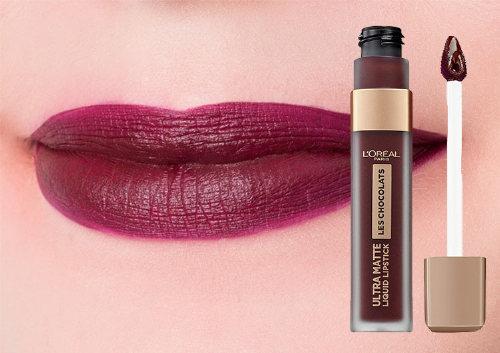 Жидкая матовая помада Les Chocolats Ultra Matte Liquid Lipstick, L'Oreal Paris