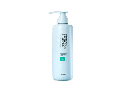 Освежающий шампунь Hairtology Fresh Cool Shampoo, Vprove