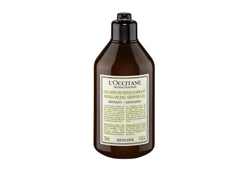 Отшелушивающий гель для душа Rebalancing Exfolianting Shower Gel,L'occitane