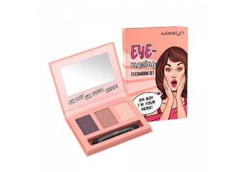 Тени Eye-Mazing Eyeshadow Set, оттенок Oh Boy I'm Your Hero!, Misslyn