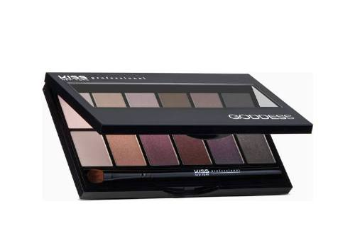 Палетка теней Goddess Eyeshadow Palette, №2 Selene, KISS New York Professional