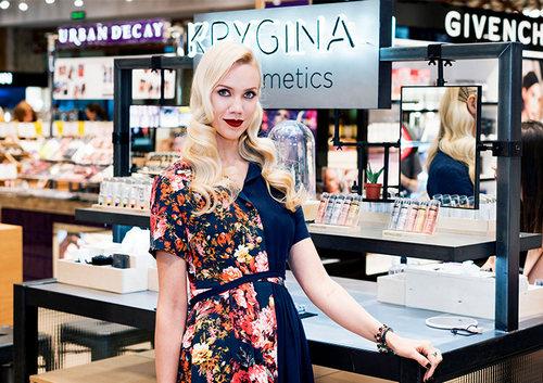 Елена Крыгина: «Krygina Cosmetics – для тех, кто любит макияж»
