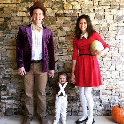 family halloween costumes 259 Fact: Families who dress together for Halloween get the most candy (45 Photos)