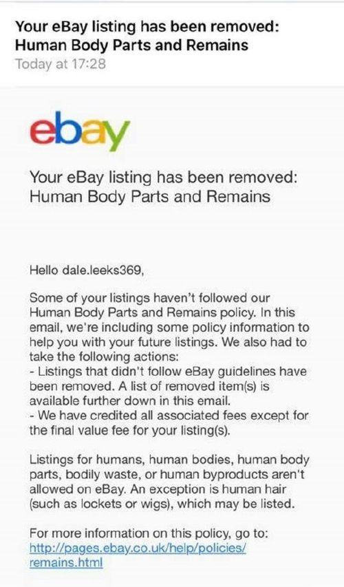 sei 33639858 7e9a Guy tries to sell girlfriend on eBay as prank, panics as bids hit $119,000