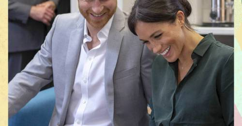 Harry and Meghan were apparently just teasing us about the name and gender of their dog