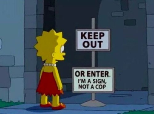 Hilarious Springfield signs you may not have seen in the background (29 Photos)